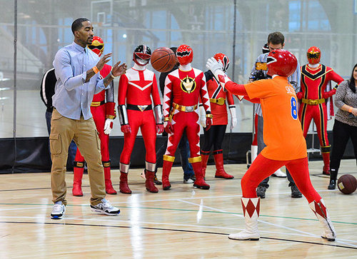 JR SMITH POWER RANGERS